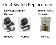 Float Switch Replacement At Pumps Selection