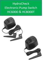 Hydrocheck Electronic Switch HC6000 HC8000T For Sump Pump