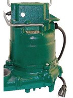 The Zoeller M53 is solidly built. The housing is strong cast iron.