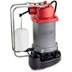 Ridgid Sump Pump 47348 RS33 1/3 HP Vertical Float vertical float switch type cast iron pump submersible smup pump