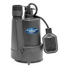 Superior 92330 1/3 HP Thermoplastic Sump Pump with Tethered Float Switch