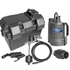 Superior Pump 92910 Battery Powered Back Up Sump Pump With Vertical Switch