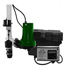 Zoeller 508-0005 Battery Back Up Sump Pump Aquanot Series 1800 GPH at 10 ft Max Lift 20 ft Thermoplastic Housing Reed Vertical Float Switch