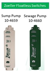 Zoeller Floatless Switch 10-4659 10-4660-Sump Pump Sewage Pump