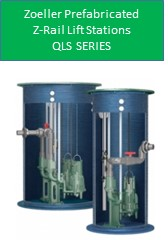 Zoeller Prefabricated Z-Rail Lift Station QLS Series
