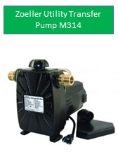 Zoeller Utility Transfer Pump Model 314