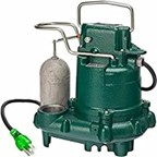 Zoeller M63 .5 Horse Power-Thermoplastic Submersible Sump Pump