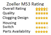 Zoeller M53 Mighty Mate Sump Pump Overall Rating