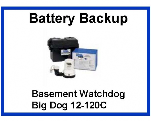 pictured is the basement watchdog big dog battery backup sump pump with dural float switch - Watchdog Sump Pump