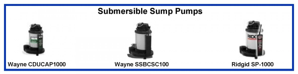 Pumps Selection Sump Pump Float Switch Water Level