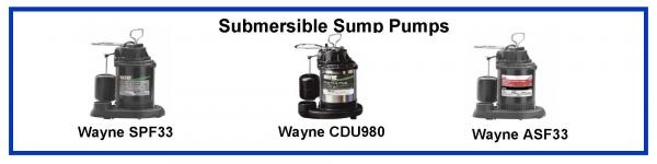 wayne spf33 13 hp submersible sump pump