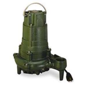 Pictured is Zoeller N137 Non Automatic Submerisible Sump Pump Add a Double Piggyback Float Switch to Make it Automatic.